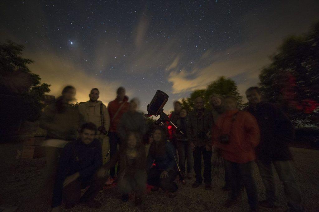 Blogtrip turismo astronomico en Martos con Astroandalus